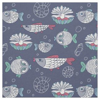 Cute Fish Pattern fabric