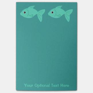 Cute Fish Post-It notes