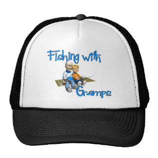 Cute Fishing with Gramps Hats