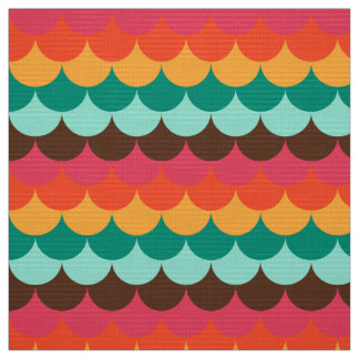 Cute fishscale pattern fabric