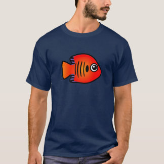 Cute Flame Angelfish T-Shirt