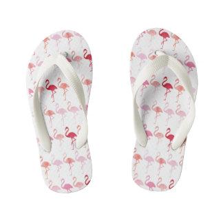 Cute Flamingo Pattern Kids Flip-Flop Kid's Flip Flops