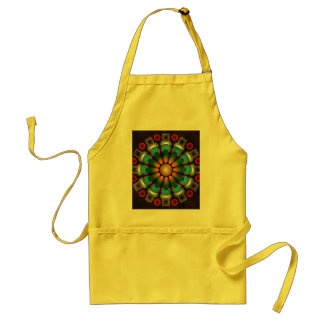 Cute Floral Abstract Vector Art Apron