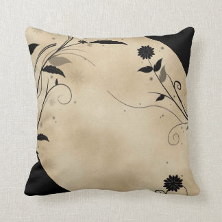 Cute floral brown and  black design cushions