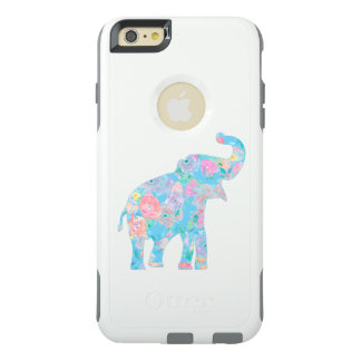 cute floral elephant OtterBox iPhone 6/6s plus case