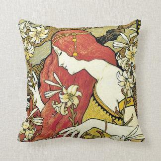 Cute floral home decor cushion