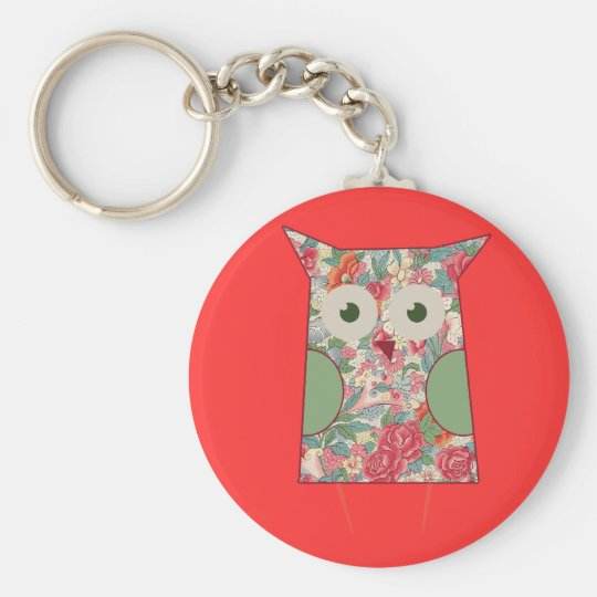 Cute Floral Own Key Ring