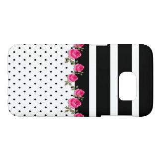 cute floral/striped/polka dots Samsung case