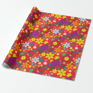 Cute Floral Wrapping Paper