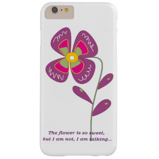 Cute flower barely there iPhone 6 plus case