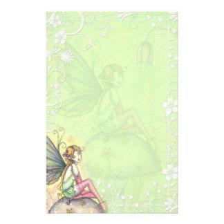 Cute Flower Fairy Fancy Stationery