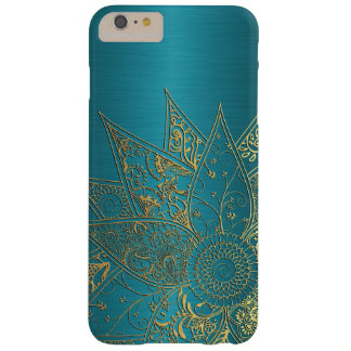 Cute flower henna hand drawn design barely there iPhone 6 plus case