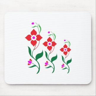 Cute Flower Pattern : All Season Creepers Mousepads
