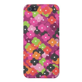 Cute flower pattern iphone case iPhone 5 cover