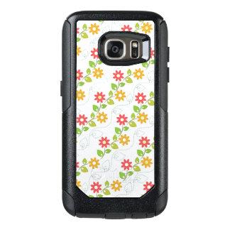 Cute Flower Pattern OtterBox Samsung Galaxy S7 Case