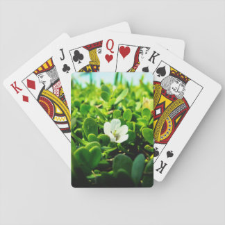 Cute Flower Poker Deck