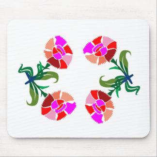 CUTE Flower Show : Decoration Graphics Mouse Pad