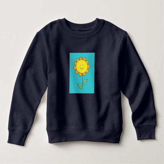 Cute flower sweatshirt