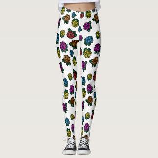 cute flowers (chrysanthemum ) leggings
