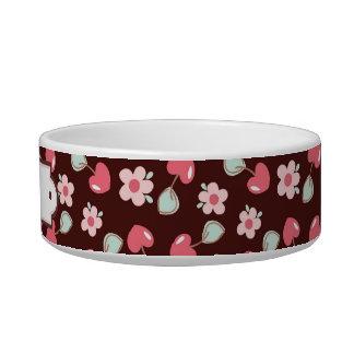 Cute Flowers Pattern Bowl