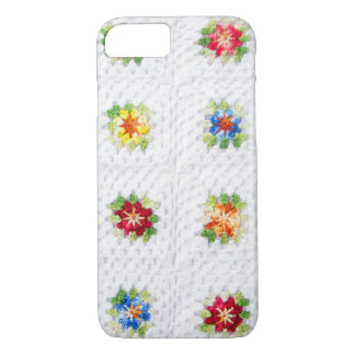 Cute Flowers Plaid iPhone 8/7 Case