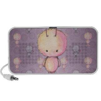 Cute Fluffy Fuzzy Monsters Speaker System