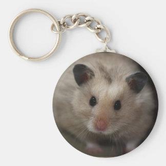 Cute Fluffy Hamster Key Chains
