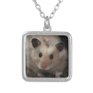Cute Fluffy Hamster Pendants