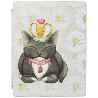 Cute Fluffy Kitten iPad Cover