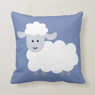 Cute Fluffy Lamb Decorative Cushion