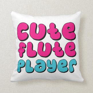 Cute Flute Player Cushion