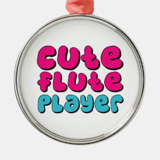 Cute Flute Player Christmas Tree Ornaments