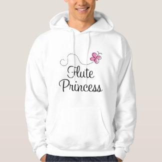 Cute Flute Princess Hoodie