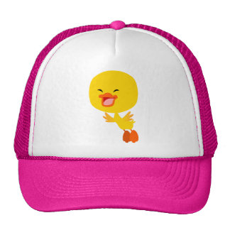 Cute Flying Cartoon Duckling Hat