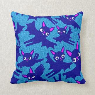 Cute Flying Halloween Bats Cushion