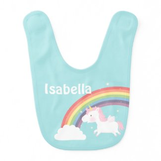 Cute Flying Unicorn Rainbow For Baby Girl