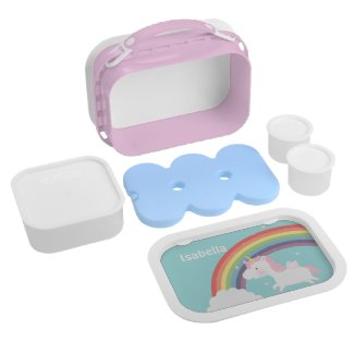 Unicorn Rainbow Lunch Box