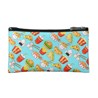 Cute Foods Cosmetic Bag
