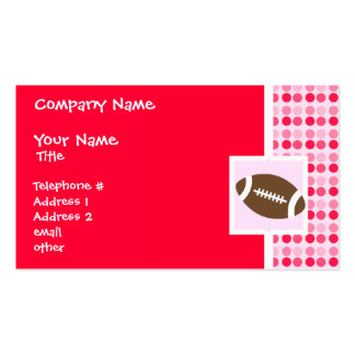 Cute Football Business Card Templates