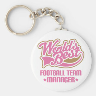 Cute Football Team Manager Keychains