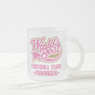 Cute Football Team Manager Mug