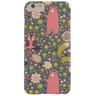 Cute Forest Animals Pattern Barely There iPhone 6 Plus Case