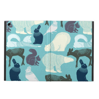 Cute Forest Animals Pattern Cover For iPad Air