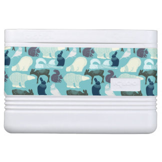 Cute Forest Animals Pattern Igloo Cooler
