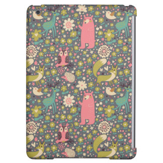 Cute Forest Animals Pattern iPad Air Cover