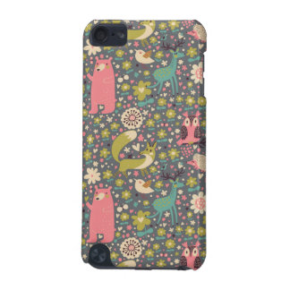 Cute Forest Animals Pattern iPod Touch 5G Cover