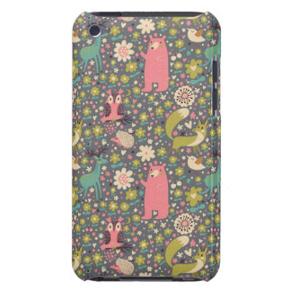 Cute Forest Animals Pattern iPod Touch Cover