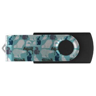 Cute Forest Animals Pattern USB Flash Drive