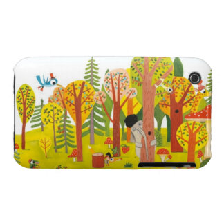 Cute forest iPhone 3 Case-Mate cases