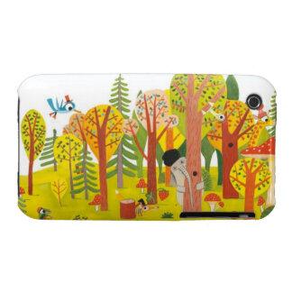 Cute forest iPhone 3 Case-Mate case